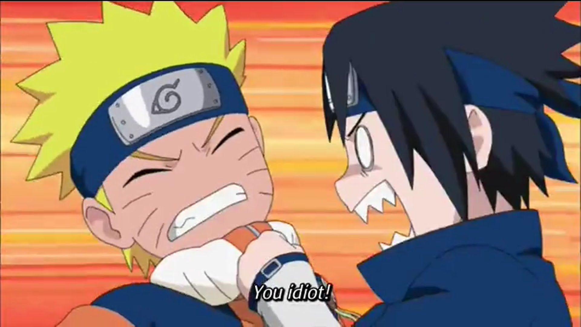 Naruto Shippuden Naruto And Sasuke Funny Moment