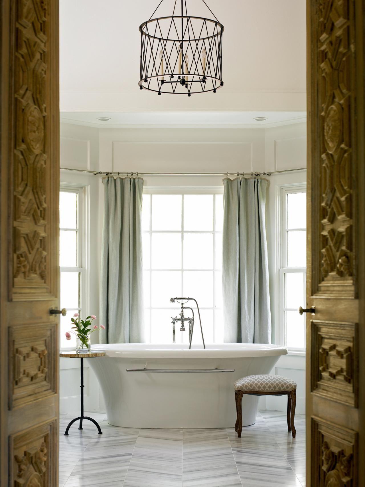 15 Dreamy Spa-Inspired Bathrooms | Pinterest | Large baths ...