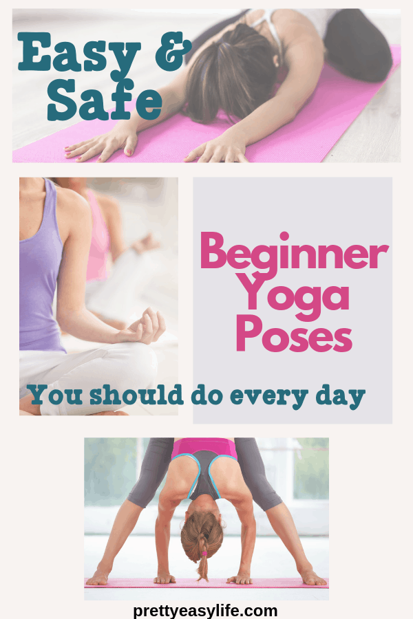beginner yoga poses to do at home   Yoga poses for ...