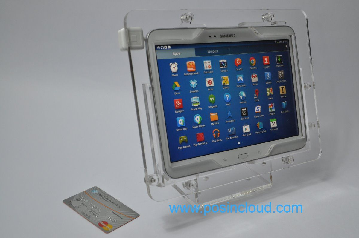 Security Enclosure For Samsung Galaxy Tab 3 10 1 Galaxy Note 10 1 2014 Edition And Galaxy Tab Pro It Fits The Square Reader As Well Www Posincloud Com