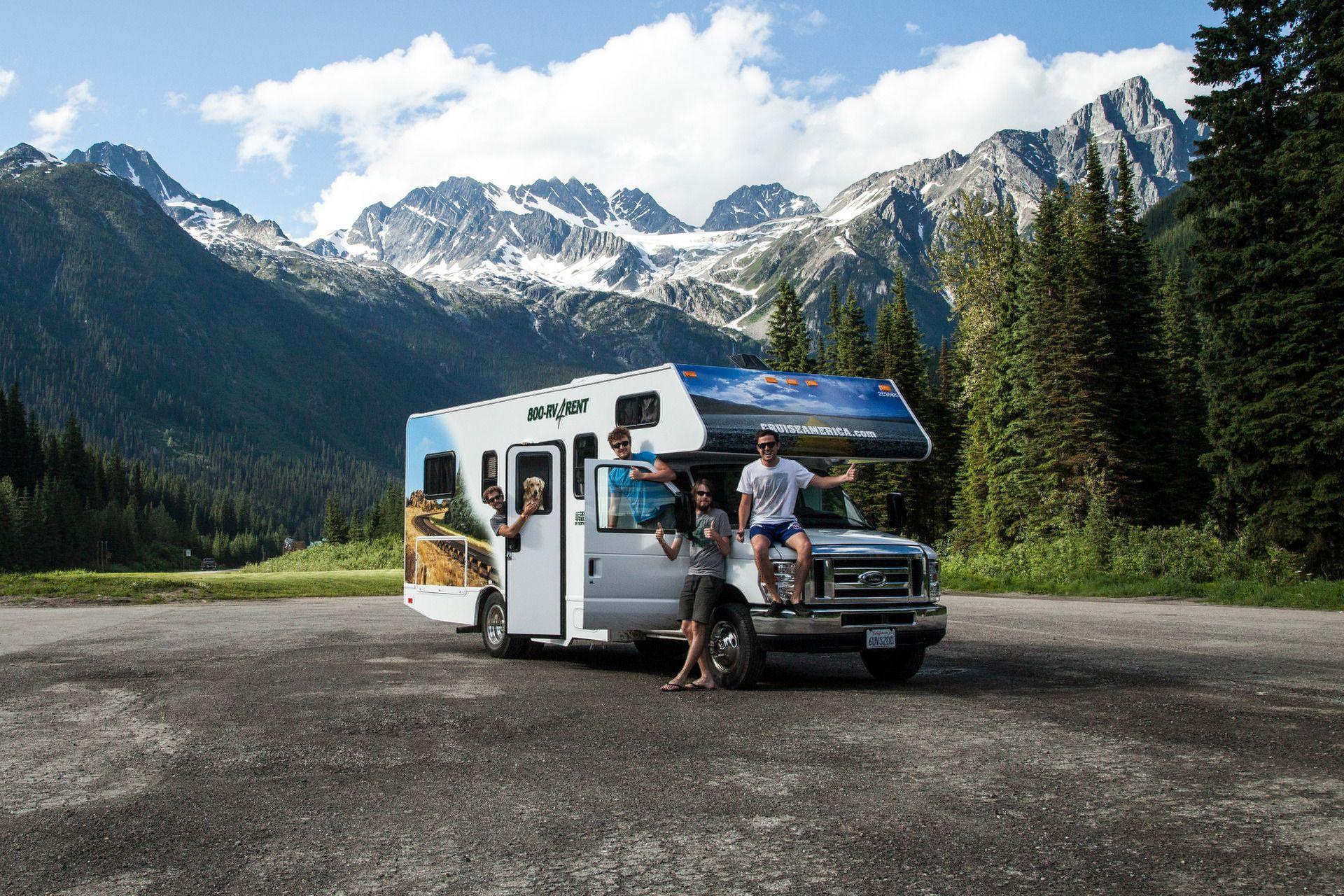 Standard Rv Rental Rv Rental Touring Caravan Recreational Vehicles