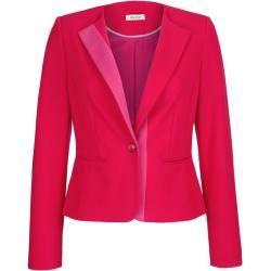Photo of Alba Moda, blazer in fashionable color blocking, red Alba Moda