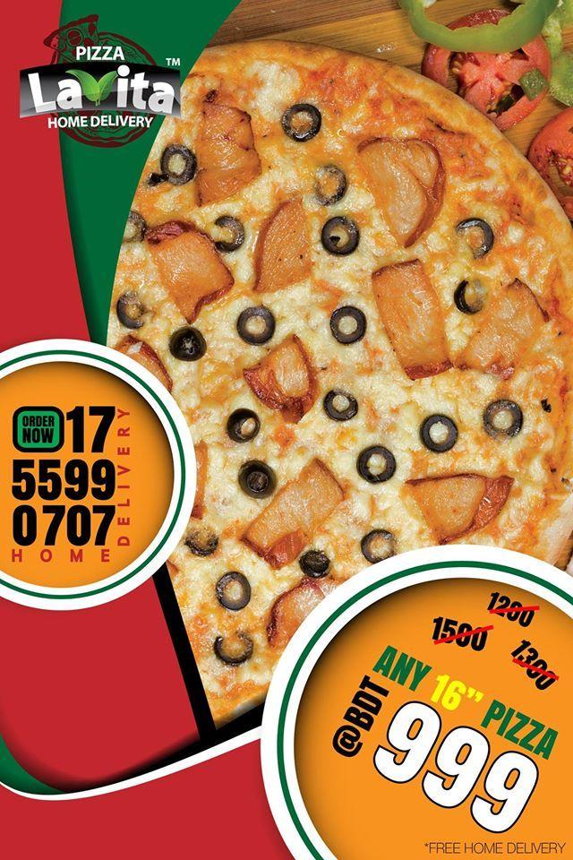 Pin By Dotcreat Ltd On Digital Works For Pizza La Vita