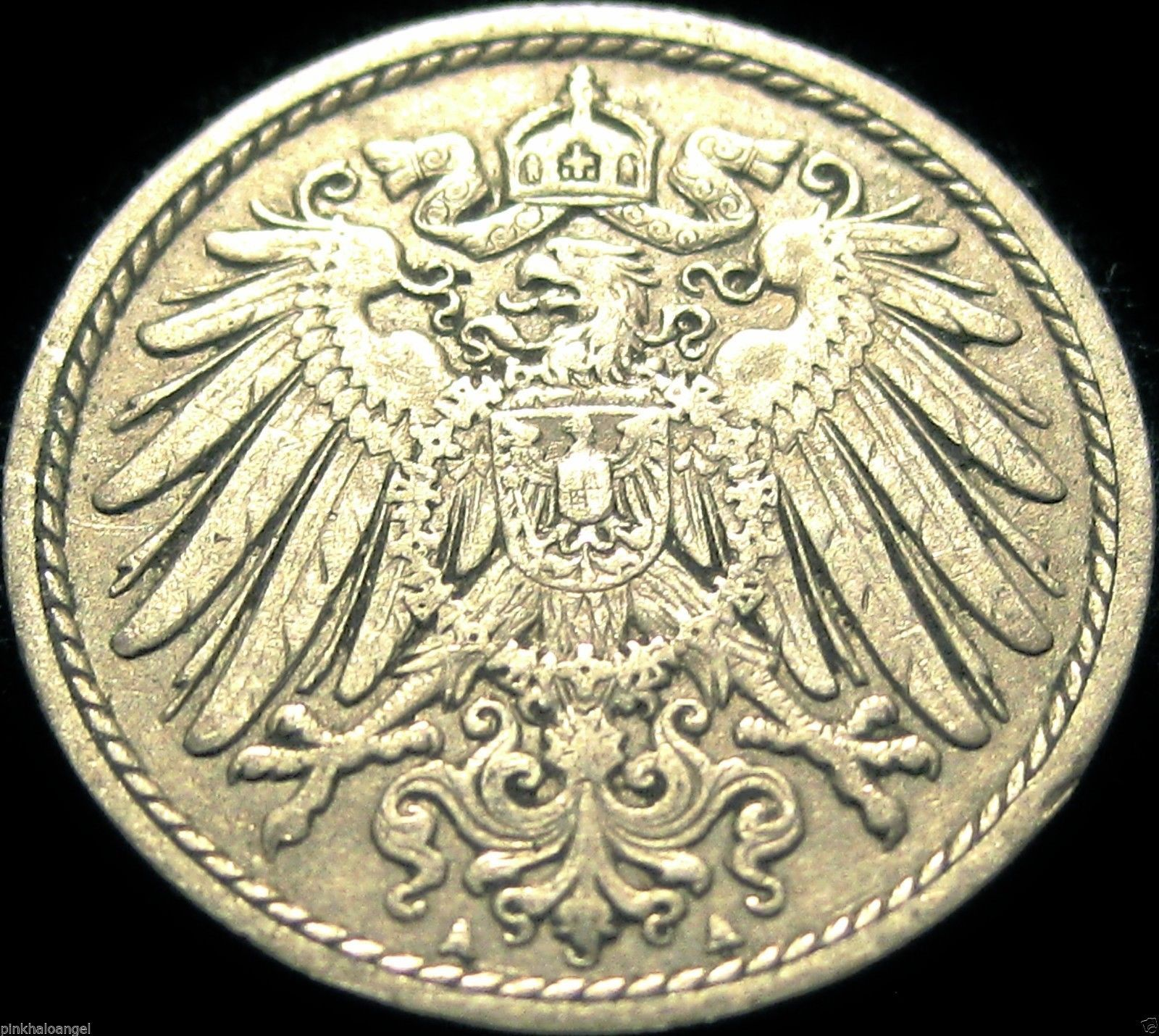 This coin is from Germany The German Empire KM11