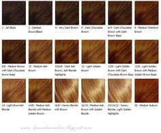 revlon hair color chart: Hair color chart for womens and hair color chart pictures revlon