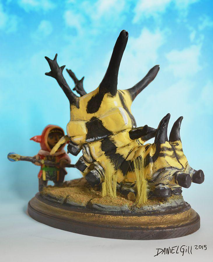 Final Fantasy XI Sculpture by Daniel Gill - 2015 | Final