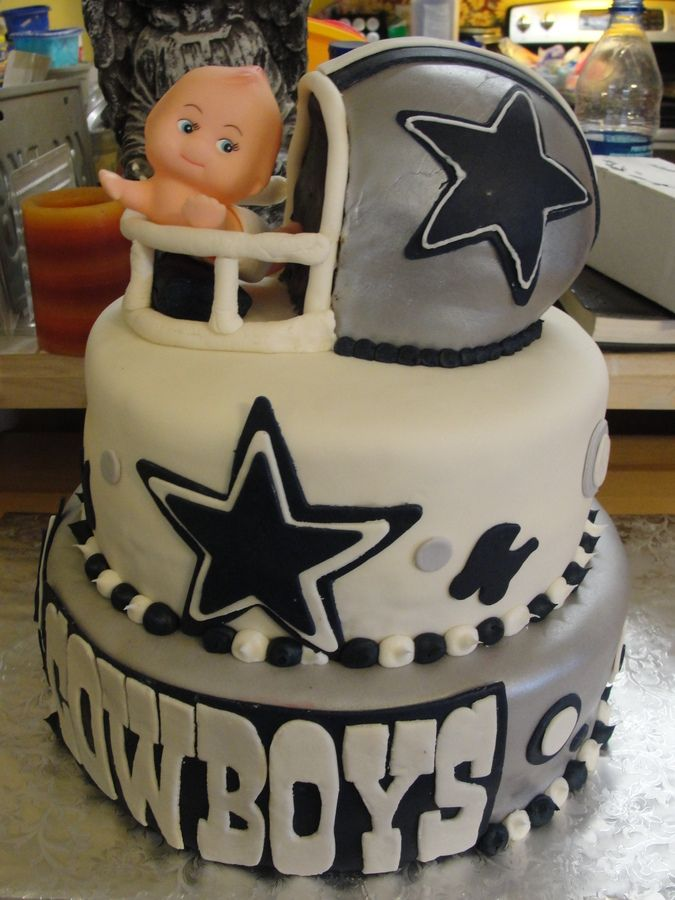 baby shower themes baby shower cakes shower ideas dallas cowboys cake