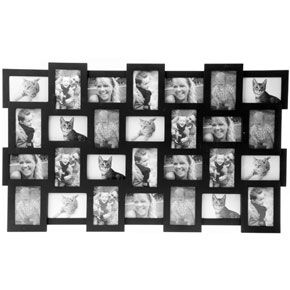 present time 28 in 1 black frame