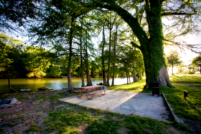 By The River Rv Park Amp Campground At Kerrville Texas