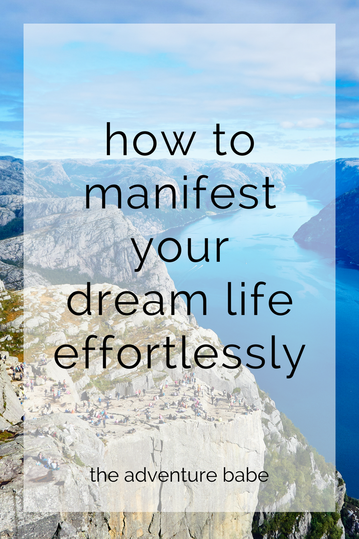 Manifesting Thoughts Effortlessly