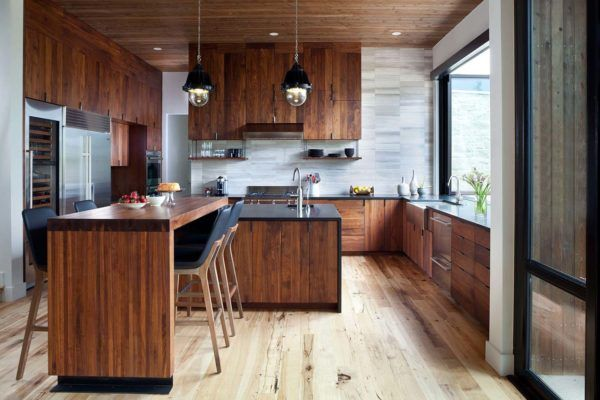 Kitchen Design Boulder Architecturally Striking Contemporary Alpine Residence In Colorado