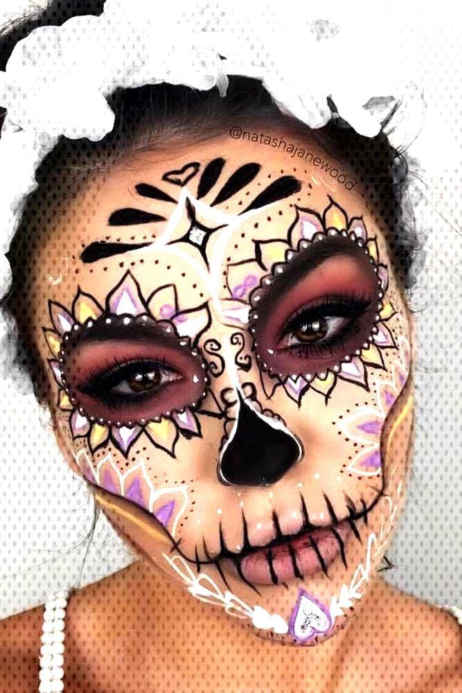 36 Best Sugar Skull Makeup of This Season - -
