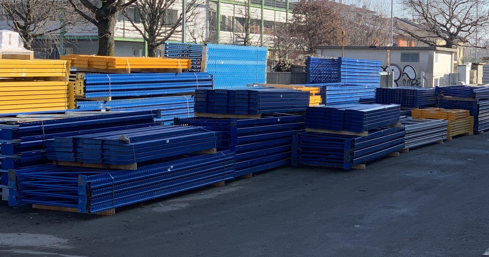 Scaffalature In Ferro Usate.Scaffalature Usate E Nuove Scaffalature Metalliche Industriali