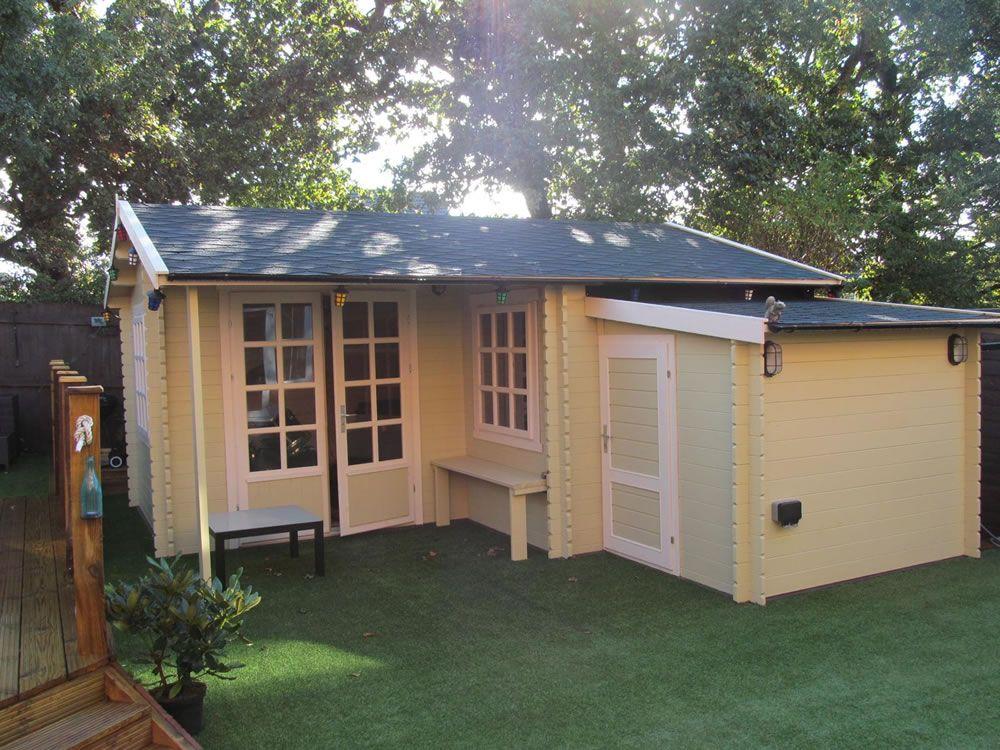 l shaped shed - Google Search   Backyard sheds, Shed ... on L Shaped Backyard Layout id=73638