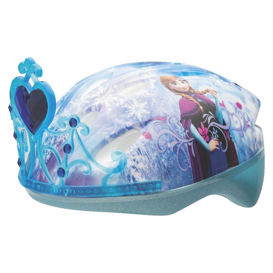 Frozen 3D Tiara Child Bike Helmet Frozen toys, Kids bike