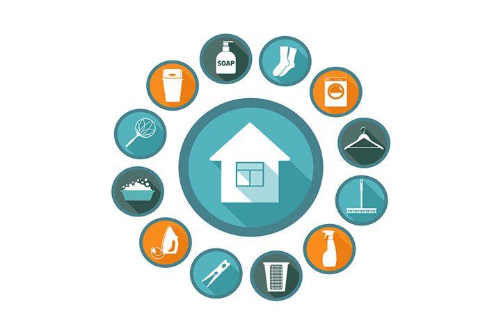 Οργάνωση σπιτιού και νοικοκυριού. 10 ενδεικτικά θέματα για την Ελληνίδα νοικοκυρά από το αρχείο δημοσιεύσεων του MAKE LiFE.