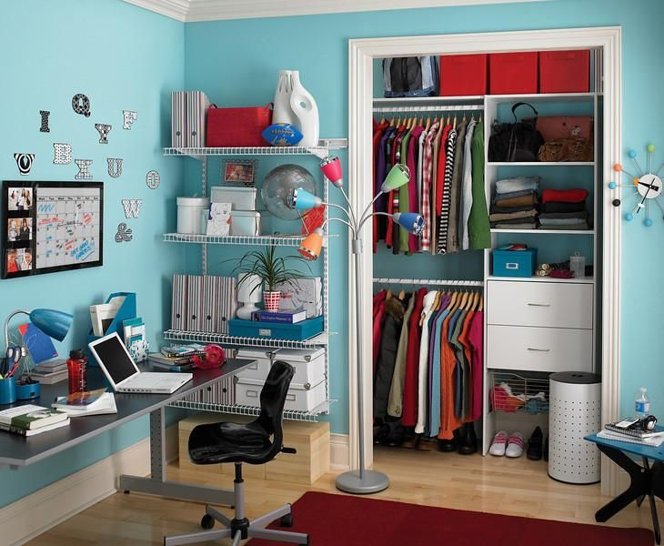 Take your teenager\'s room from drab to fab with ClosetMaid ...