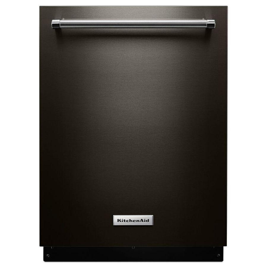 Kitchenaid 46decibel builtin dishwasher black stainless