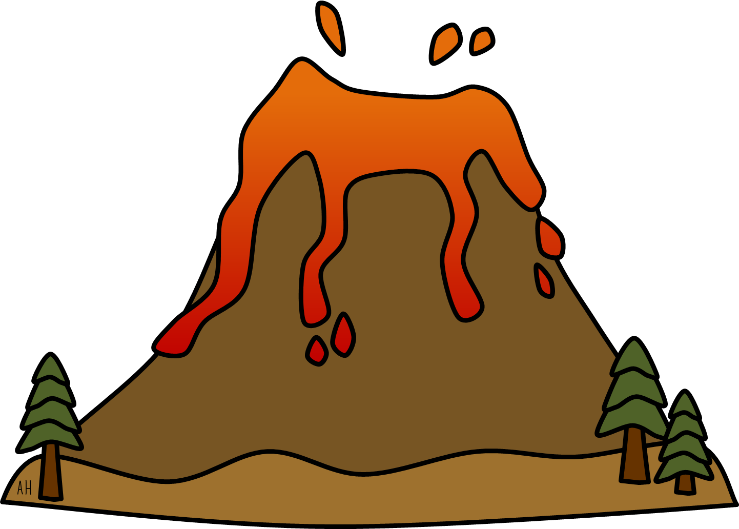 images for u003e volcano gif animation patterns and drawings ideas rh pinterest com clip art volcano erupting clip art volcano erupting