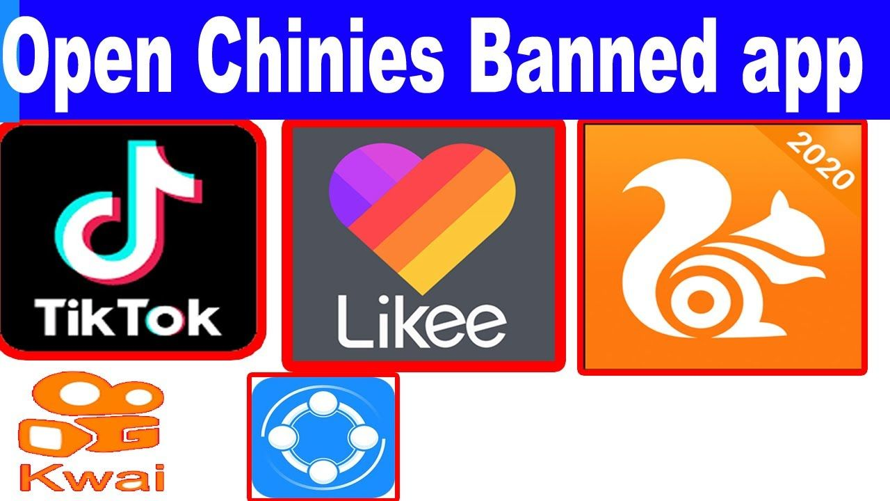 How To Use Banned Chinese App 2020 Use Tiktok In India Chinese Banned App Open Banned App App Being Used Banned