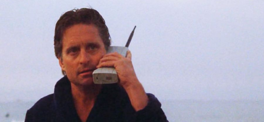 Image result for michael douglas wall street cell phone ...