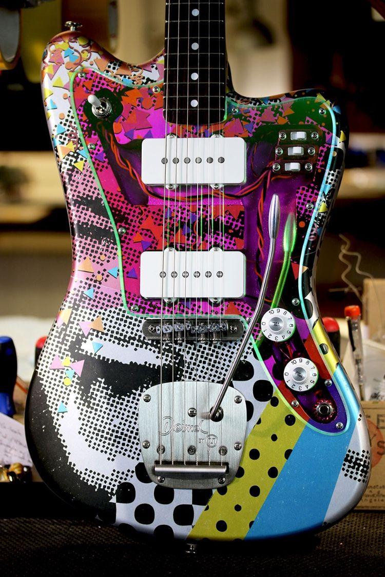Deimel Firestar Artist Edition 20 Years 143 Boutique Guitar Music Guitar Cool Guitar