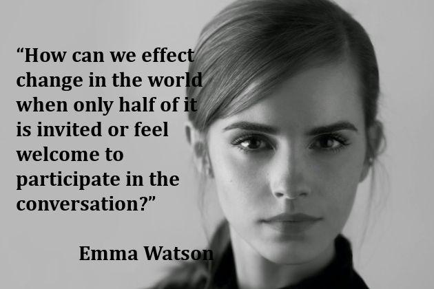 Celebrity Feminists Feminist Actresses Celebration Quotes Emma Watson Quotes Inequality Quotes