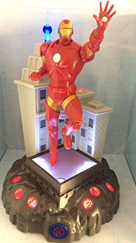 Marvel Avengers Talking Room Light Action Hero  Iron Man 11 Tall * More info could be found at the image url.Note:It is affiliate link to Amazon.