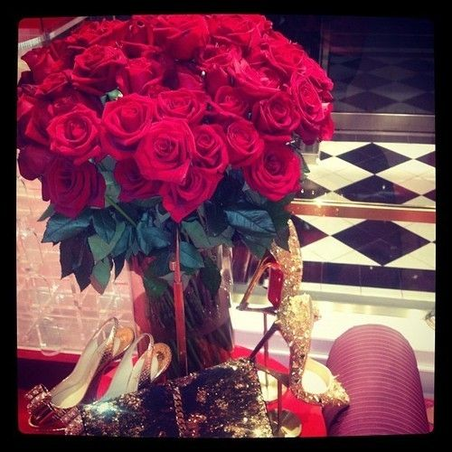 Perfect gift for any occasion :D Christian Louboutin & Roses <3