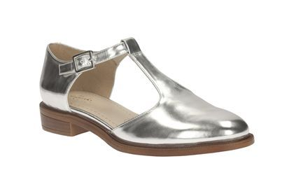 2124e1b0cf22 Womens Casual Shoes - Taylor Palm in Silver from Clarks shoes ...