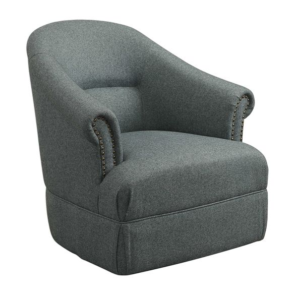 Best Click Here To View Larger Image Swivel Accent Chair 400 x 300