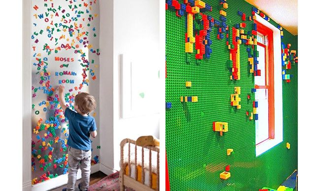 Creative Kids Playroom Decorating Ideas Playful Walls