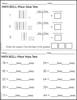 Place Value Worksheets Third Grade Place Value Worksheets Place Values Math Place Value