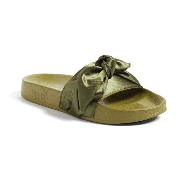 377faac73c0c Women s Fenty Puma By Rihanna Bow Slide ( 90) ❤ liked on Polyvore featuring  shoes