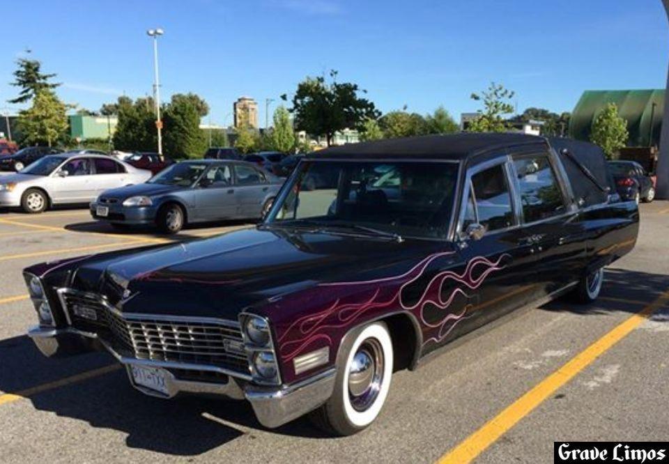 1967 Cadillac Superior Crown Sovereign Landaulet hearse