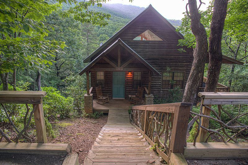 Helen Cabin Rental Luxury Couples Cabin W Incredible