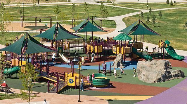 Map Of Play Memorial Park Denver Parks Park City