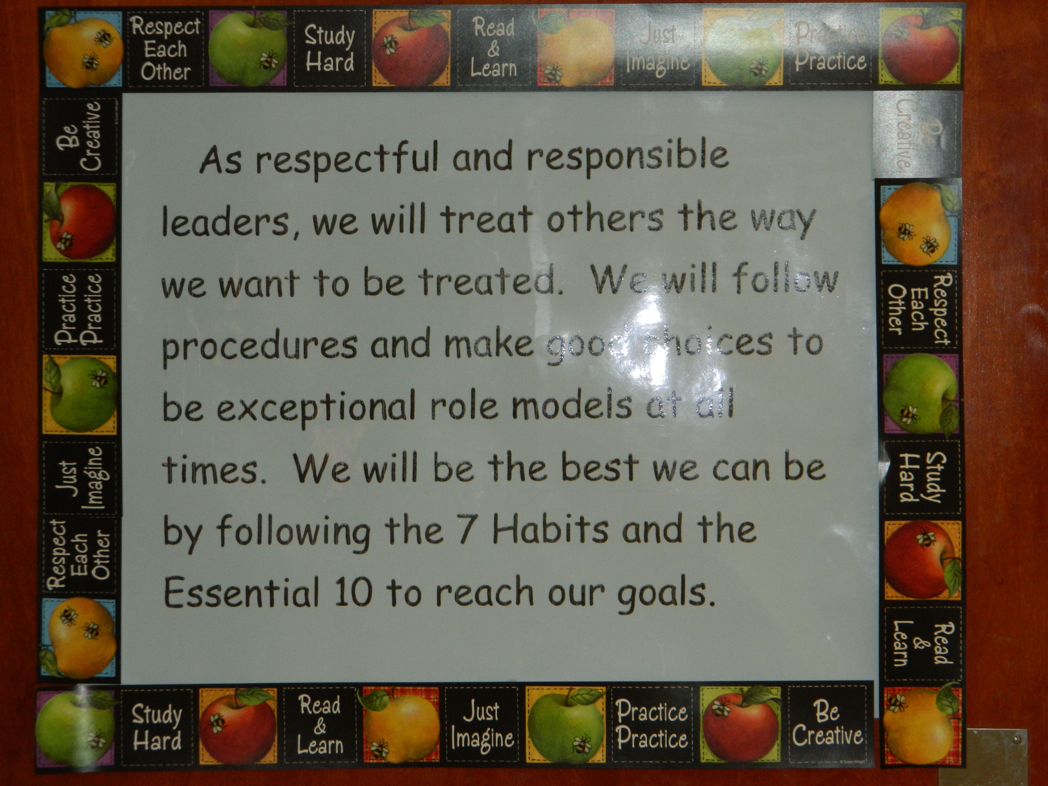 Class Mission Statement At Beard Elementary