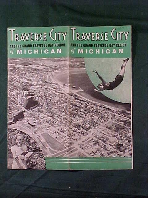 old travel brochures