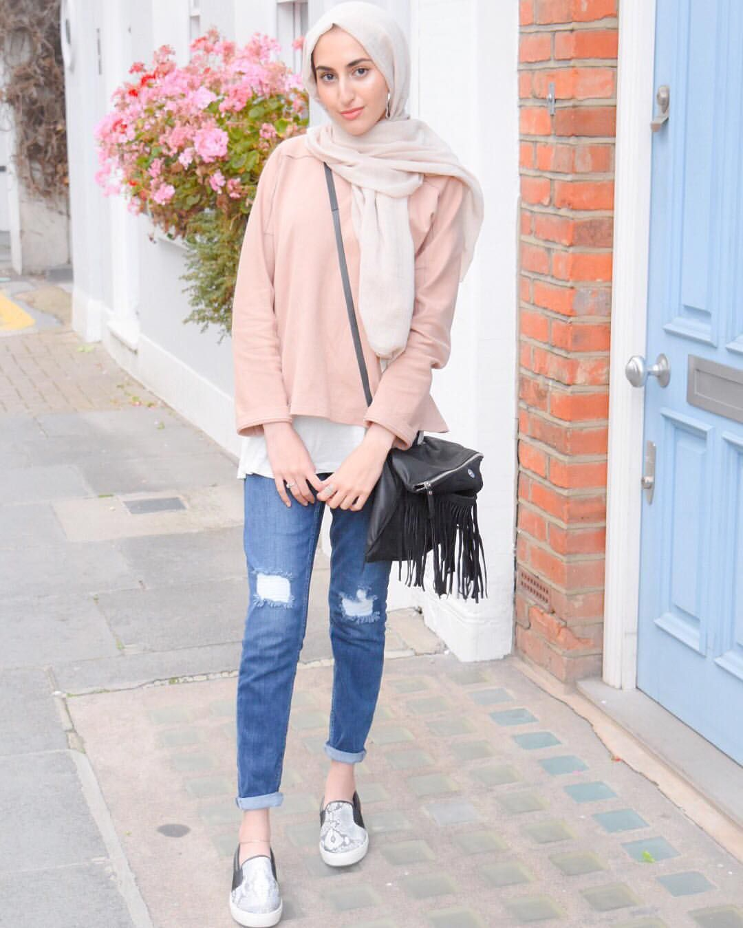 Fashion Style Hijab Casual