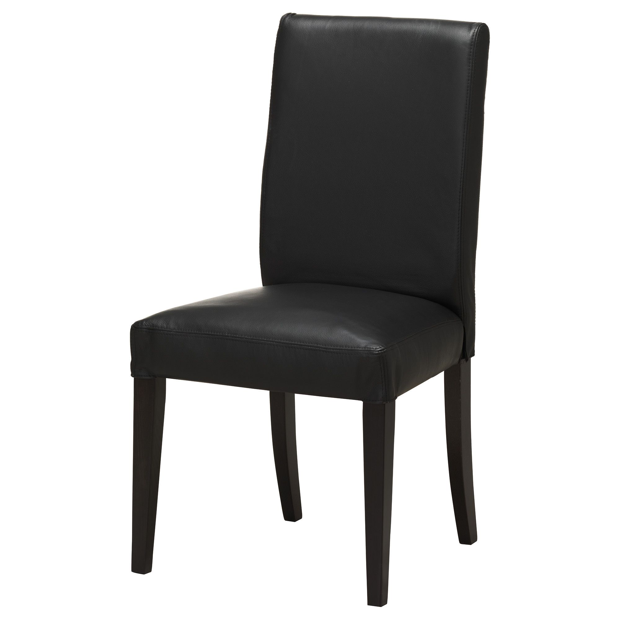 Black Leather Chairs Ikea Henriksdal Chair Brown Black Robust Black Ikea