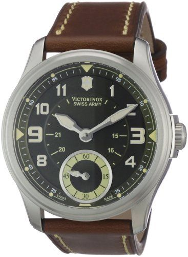 Victorinox Swiss Army Men's 241376 Infantry Vintage Small Seconds Mecha Watch: Watches: Amazon.com