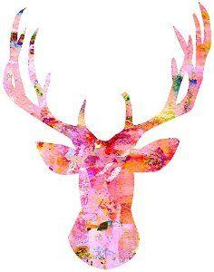 watercolor deer - Buscar con Google