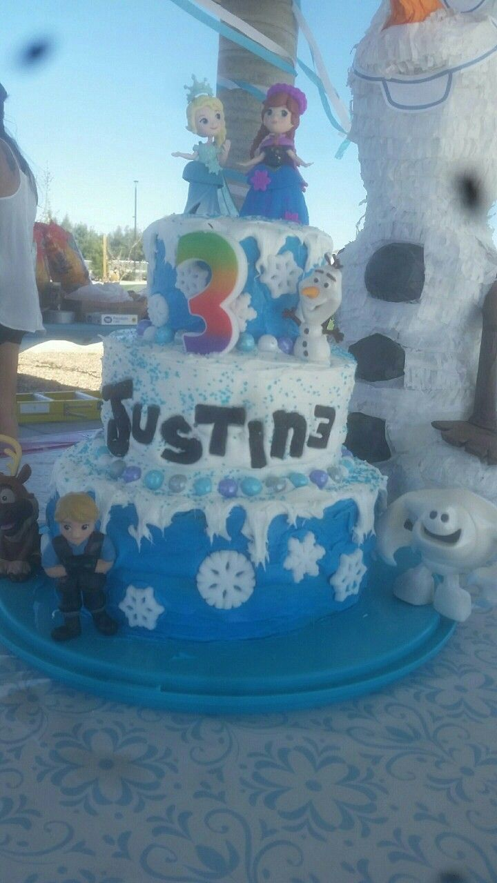 Birthday cake my brother made for his daughter DIY Crafts By
