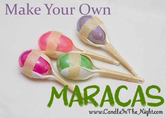 Musical Crafts for Kids: Make Your Own Maracas | Nap times, Crafts ...