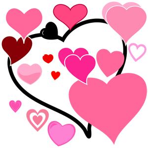 imgenes de corazones para imprimir Si te gustan los dibujos de
