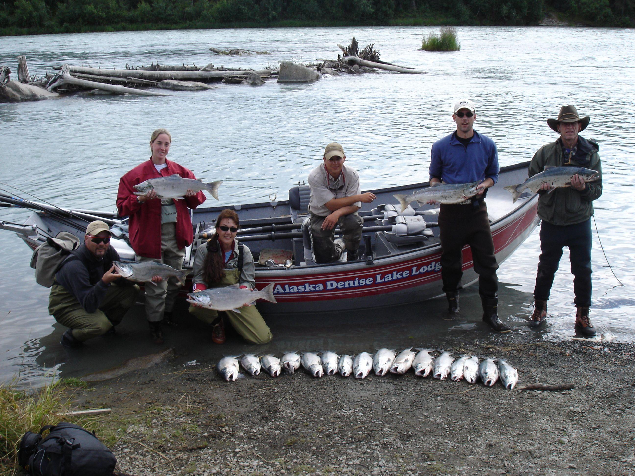 New All Inclusive Fishing Vacation Packages E E Alaska Salmon - All inclusive alaska