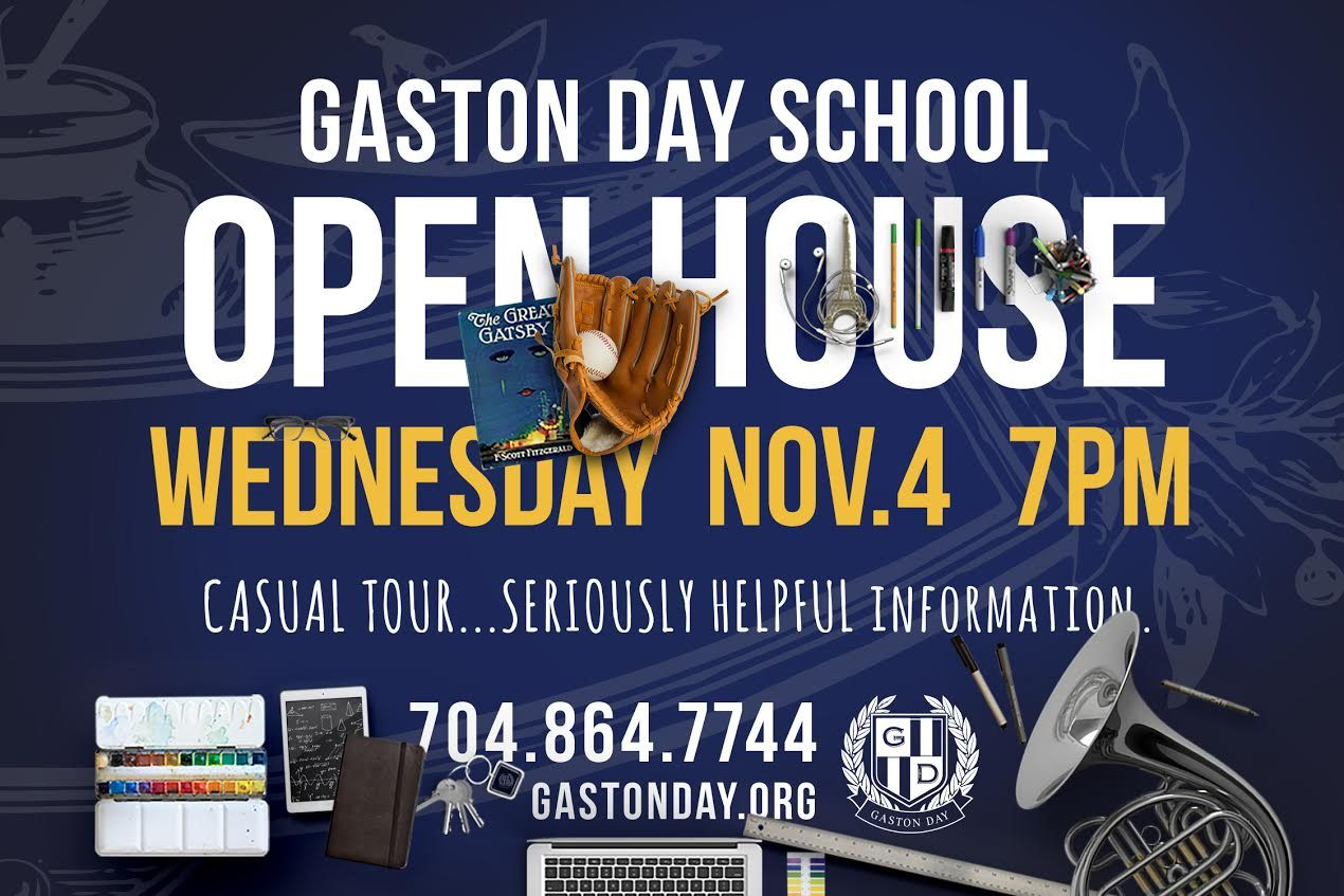 Open House November 4th  7pm