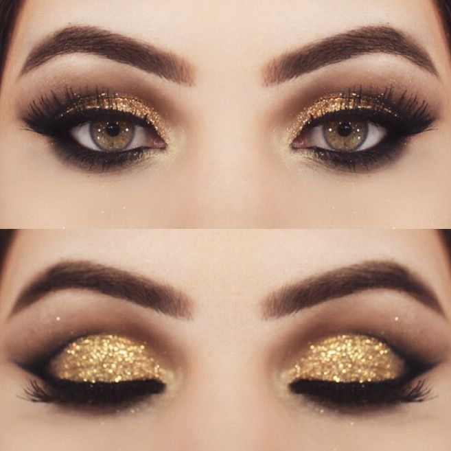 8b6ebf7d68dfb Gold MAKEUP - Maquiagem Dourada