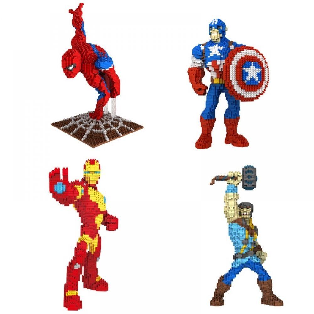 Marvel Spider-Man Nanoblock Micro Toy Building Blocks Kit Large